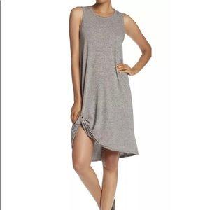 n:Philanthropy Boo Heathered Twist Hem Tank Dress